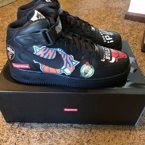 Supreme Shoes - NBA X SUPREME X NIKE AIR FORCE MID